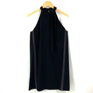 ANN TAYLOR Black Sleeveless Dress Size 6 i21